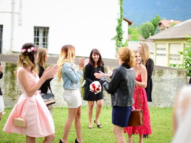 Le mariage de Pierre et Pauline à Gilly-sur-Isère, Savoie 74
