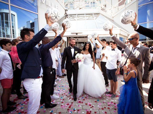 Le mariage de David et Delhia à Marseille, Bouches-du-Rhône 14
