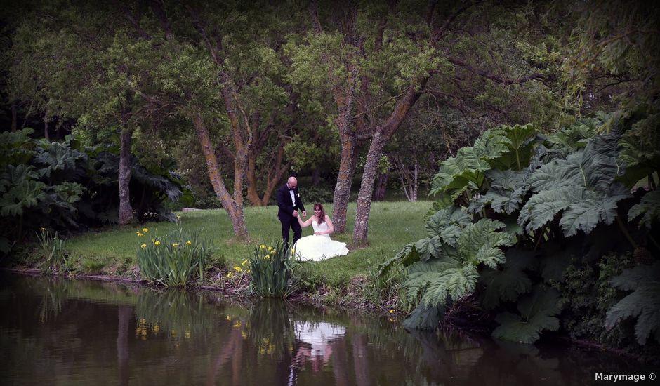 Le mariage de Davide et Jennifer à Les Pieux, Manche