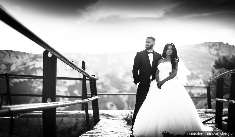Le mariage de David et Delhia à Marseille, Bouches-du-Rhône