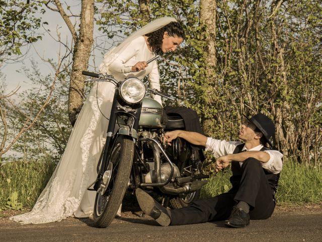 Le mariage de Xavier et Géraldine à Thérondels, Aveyron 17