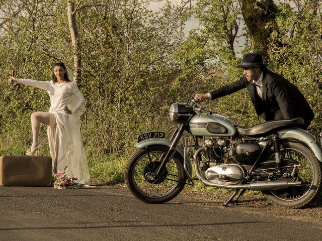 Le mariage de Xavier et Géraldine à Thérondels, Aveyron 22