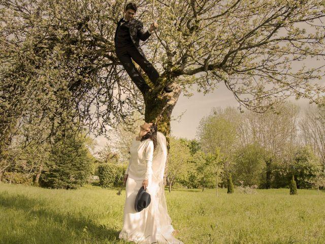 Le mariage de Xavier et Géraldine à Thérondels, Aveyron 23
