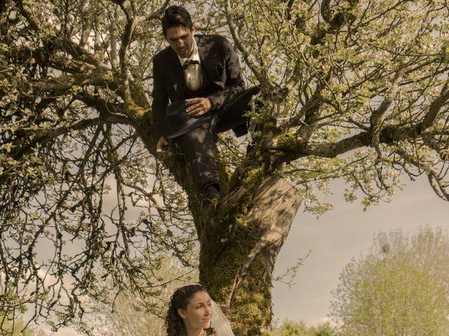 Le mariage de Xavier et Géraldine à Thérondels, Aveyron 25