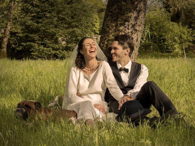 Le mariage de Xavier et Géraldine à Thérondels, Aveyron 27