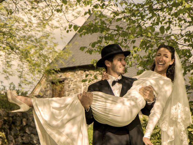 Le mariage de Xavier et Géraldine à Thérondels, Aveyron 28