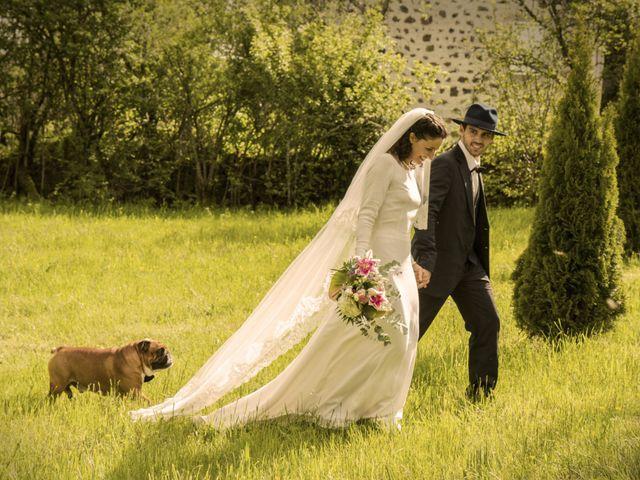 Le mariage de Xavier et Géraldine à Thérondels, Aveyron 33