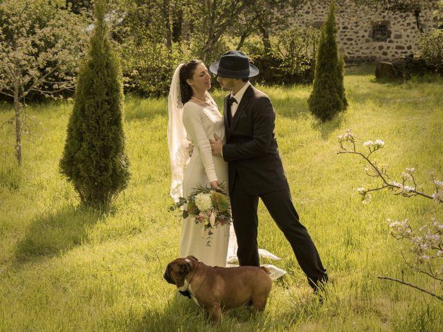 Le mariage de Xavier et Géraldine à Thérondels, Aveyron 34