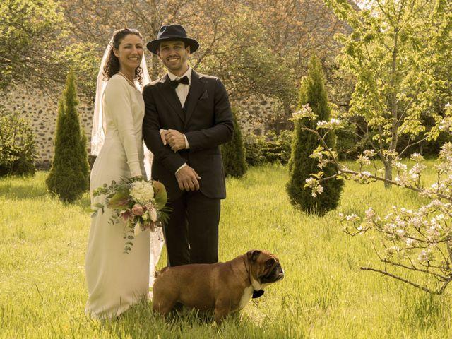Le mariage de Xavier et Géraldine à Thérondels, Aveyron 35