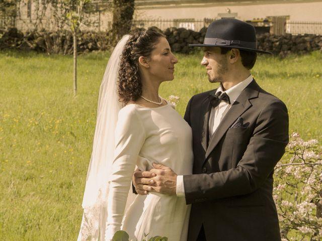Le mariage de Xavier et Géraldine à Thérondels, Aveyron 36