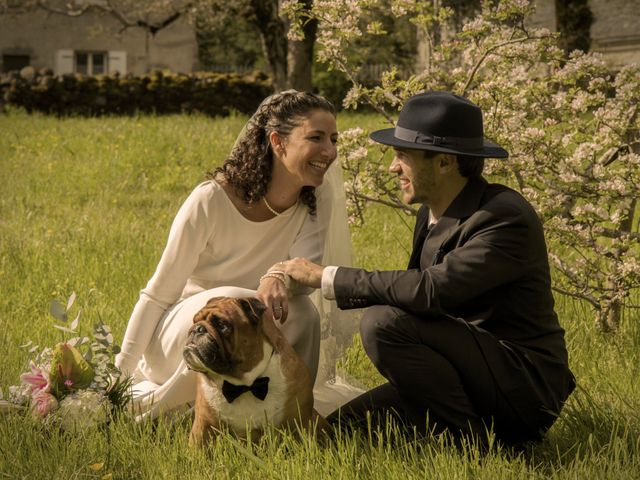 Le mariage de Xavier et Géraldine à Thérondels, Aveyron 37