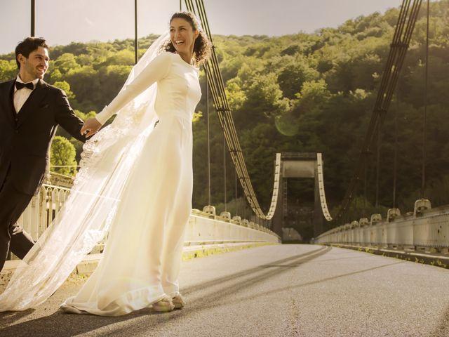 Le mariage de Xavier et Géraldine à Thérondels, Aveyron 62