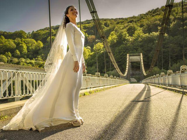 Le mariage de Xavier et Géraldine à Thérondels, Aveyron 63