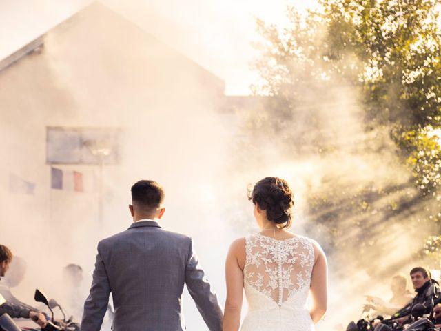 Le mariage de Fabien et Manon à Geneuille, Doubs 22