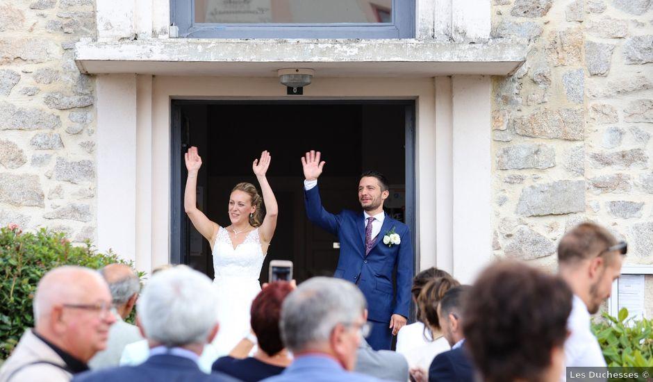 Le mariage de Foulques et Laurie à Les Cars, Haute-Vienne