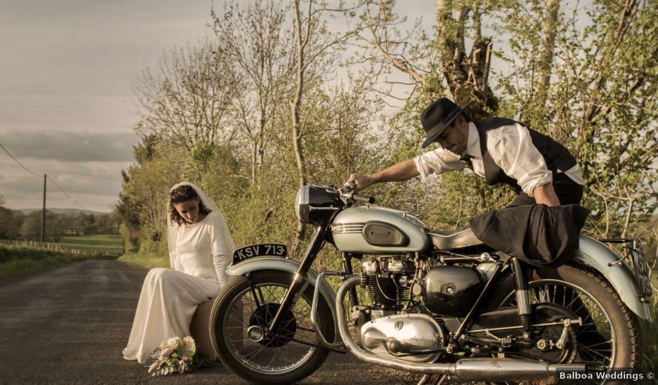 Le mariage de Xavier et Géraldine à Thérondels, Aveyron