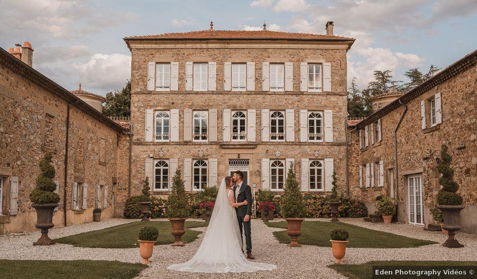 Le mariage de Paul et Léa à Lemps, Ardèche