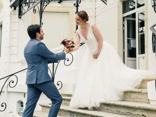 Le mariage de Maxime et Nausicaa à Buc, Yvelines 54