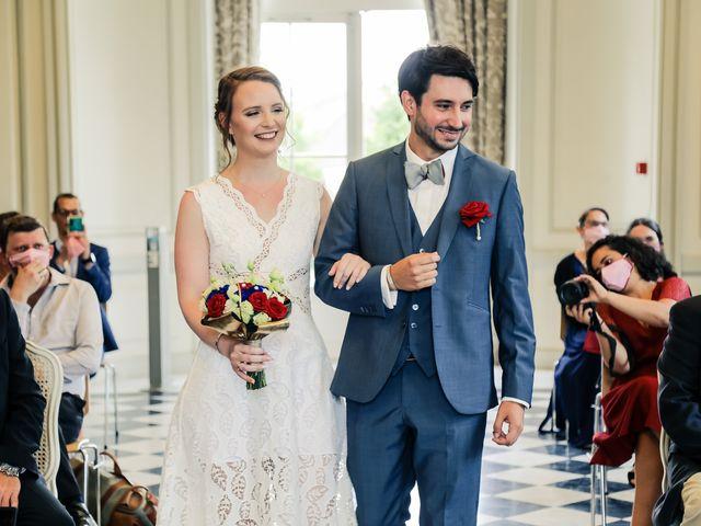 Le mariage de Maxime et Nausicaa à Buc, Yvelines 61