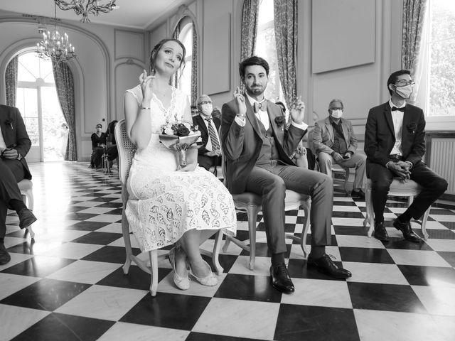 Le mariage de Maxime et Nausicaa à Buc, Yvelines 72
