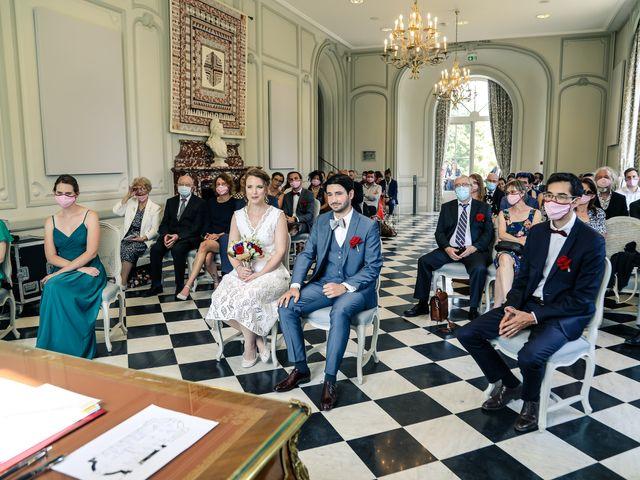 Le mariage de Maxime et Nausicaa à Buc, Yvelines 75