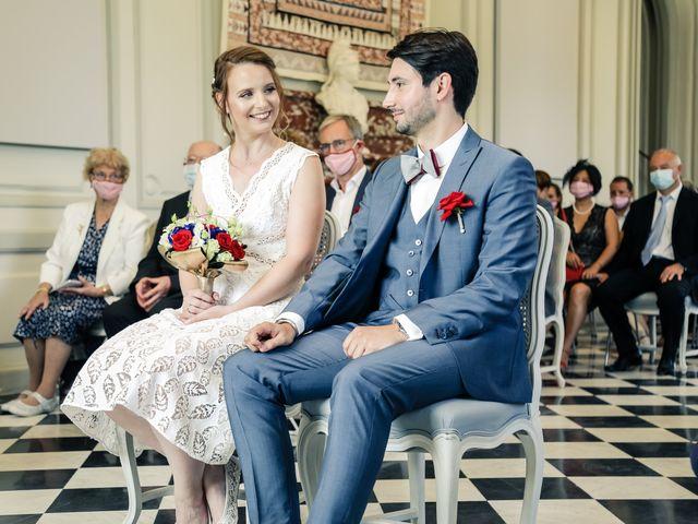 Le mariage de Maxime et Nausicaa à Buc, Yvelines 77