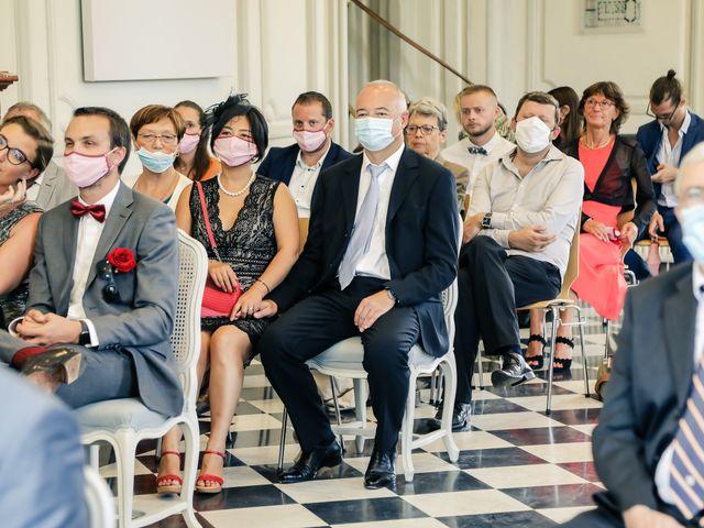 Le mariage de Maxime et Nausicaa à Buc, Yvelines 78