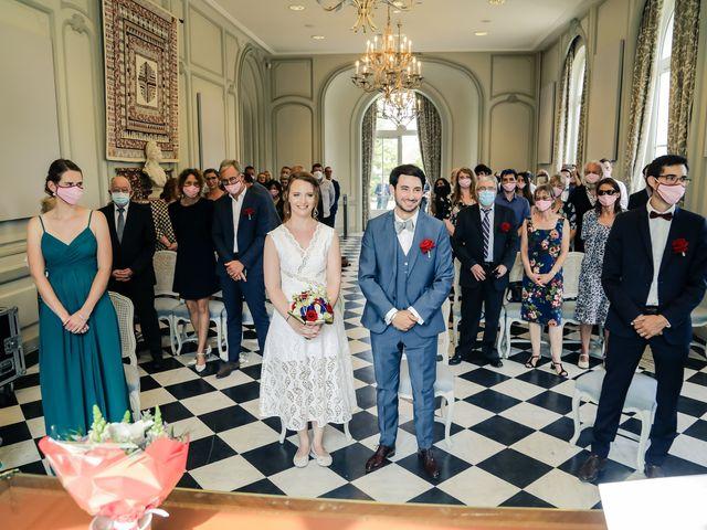 Le mariage de Maxime et Nausicaa à Buc, Yvelines 79