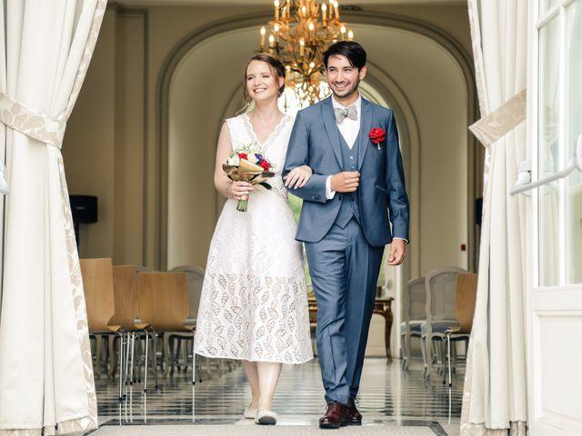 Le mariage de Maxime et Nausicaa à Buc, Yvelines 87
