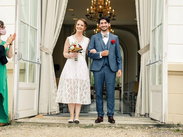 Le mariage de Maxime et Nausicaa à Buc, Yvelines 89