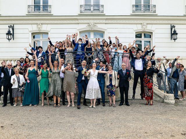 Le mariage de Maxime et Nausicaa à Buc, Yvelines 90