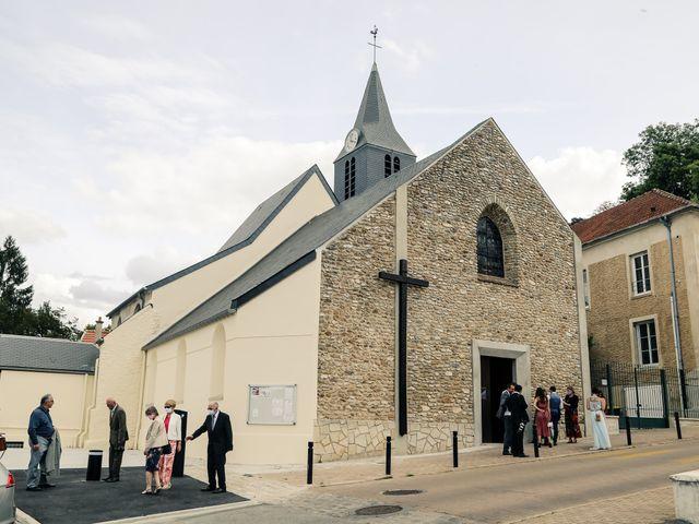 Le mariage de Maxime et Nausicaa à Buc, Yvelines 91