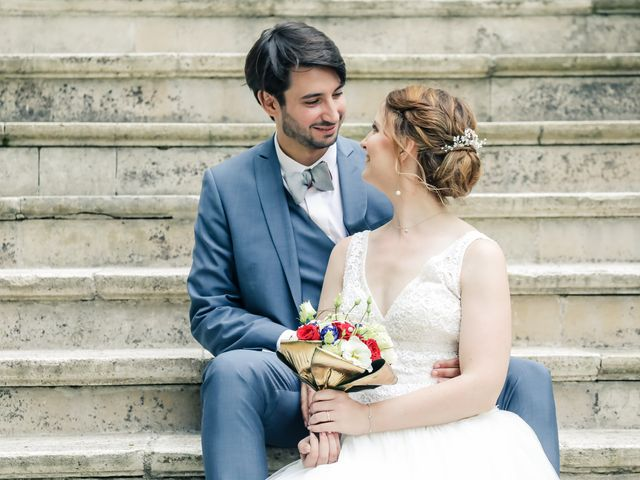 Le mariage de Maxime et Nausicaa à Buc, Yvelines 141