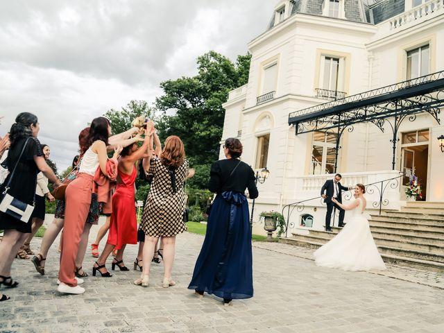 Le mariage de Maxime et Nausicaa à Buc, Yvelines 158