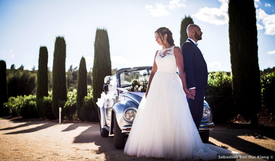 Le mariage de Alan et Chrystelle à La Cadière-d'Azur, Var
