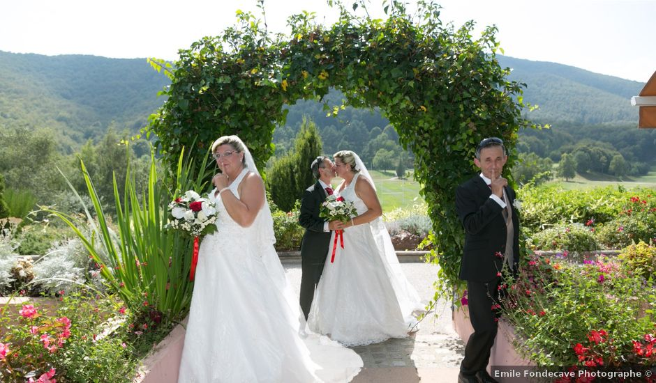 Le mariage de François et Mathilde à Saint-Laurent-de-Cerdans, Pyrénées-Orientales