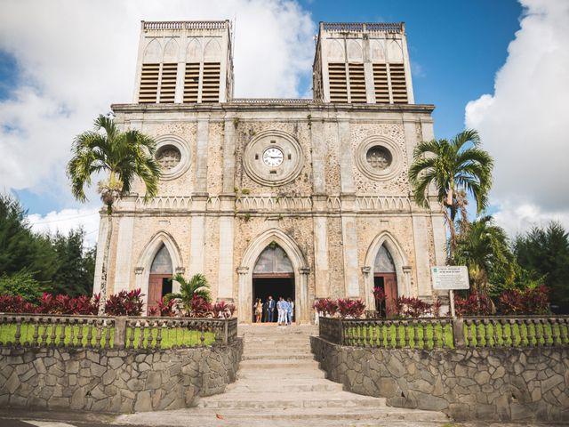 Le mariage de Julien et Jessica à Saint-Joseph, Martinique 6
