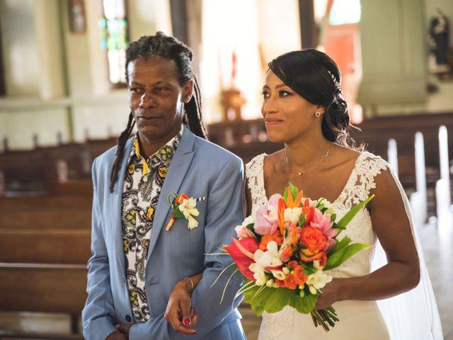 Le mariage de Julien et Jessica à Saint-Joseph, Martinique 8