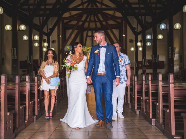 Le mariage de Julien et Jessica à Saint-Joseph, Martinique 11