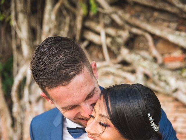 Le mariage de Julien et Jessica à Saint-Joseph, Martinique 13