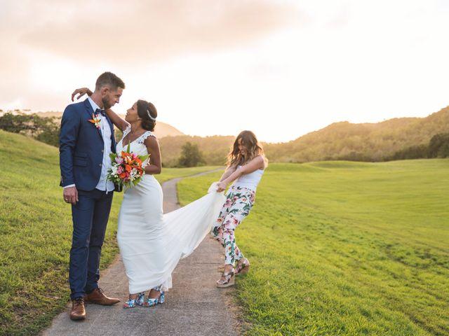 Le mariage de Julien et Jessica à Saint-Joseph, Martinique 15