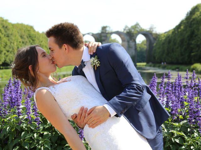 Le mariage de Sylvain et Lise à Maintenon, Eure-et-Loir 1