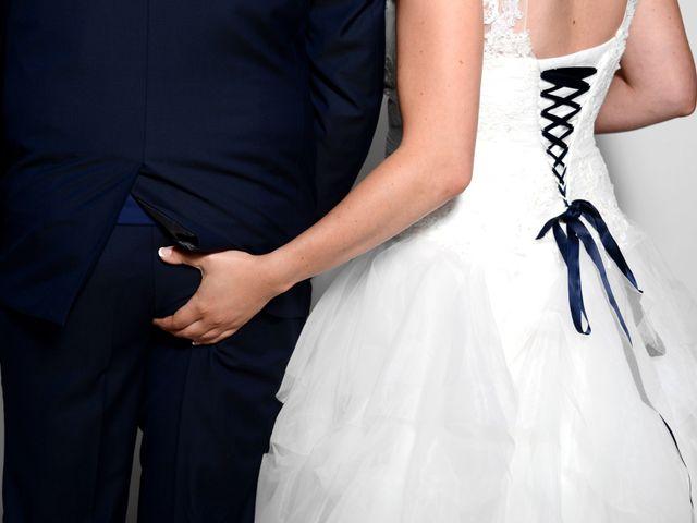 Le mariage de François et Alexandra à Amareins Francheleins Ces, Ain 5