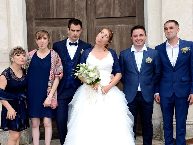 Le mariage de François et Alexandra à Amareins Francheleins Ces, Ain 32