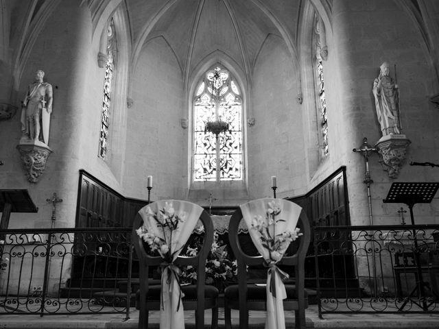 Le mariage de Nicolas et Clotilde à Souzay-Champigny, Maine et Loire 3