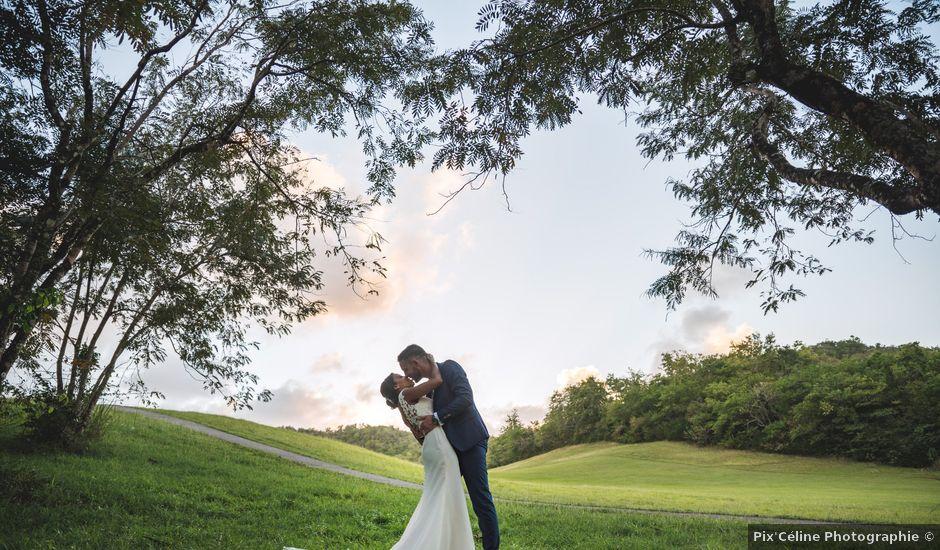 Le mariage de Julien et Jessica à Saint-Joseph, Martinique
