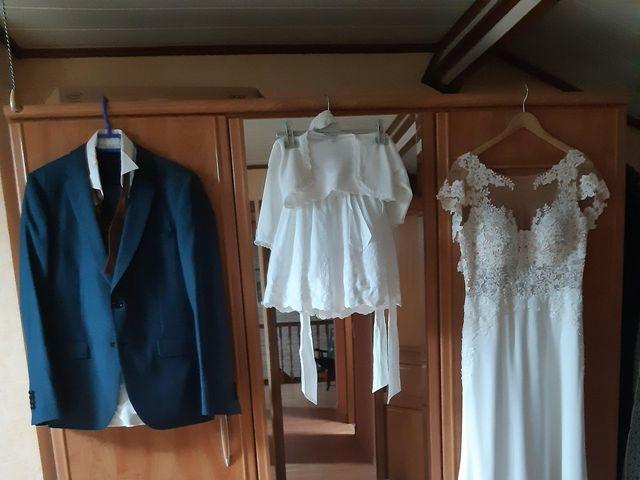 Le mariage de Jean et Ingrid à Sainte-Marie-de-Vatimesnil, Eure 4