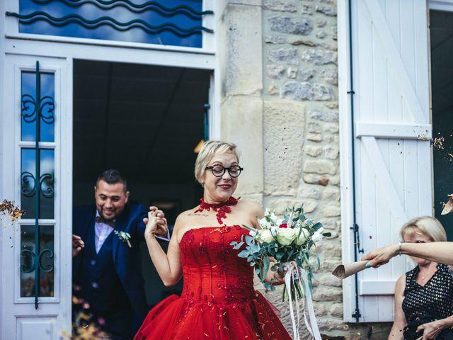 Le mariage de Jérémy et Emilie à Noron-l'Abbaye, Calvados 57