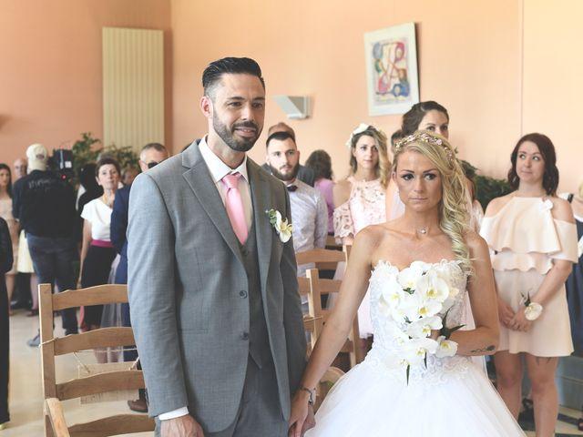 Le mariage de Granger et Vanessa  à Saint-Gervais, Gironde 18