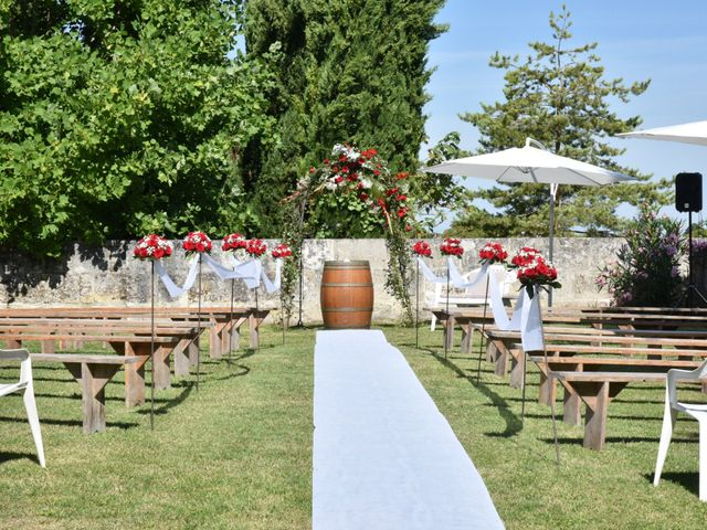Le mariage de Guillaume et Emilie à Archiac, Charente Maritime 9